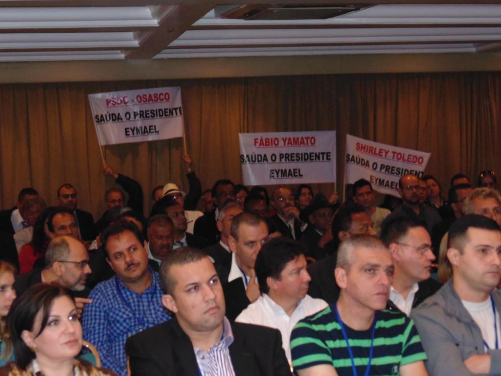 Pré-convenção do PSDC-SP, Salão Nobre lotado e unidade comprovada. (Foto: Coordenadoria de Comunicação)