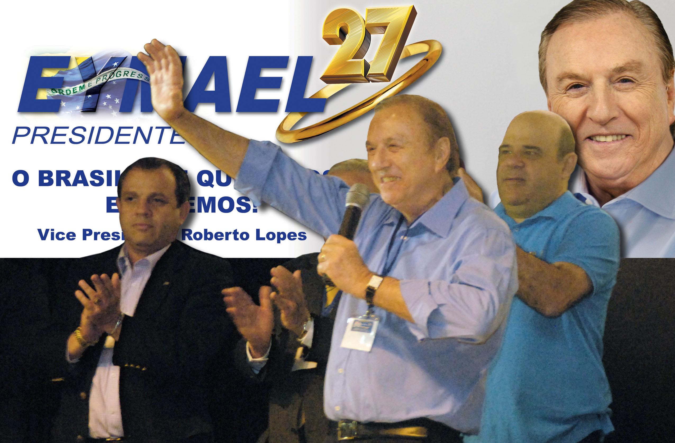 O PSDC aclama: Eymael Presidente. (Foto: Comunicação PSDC)