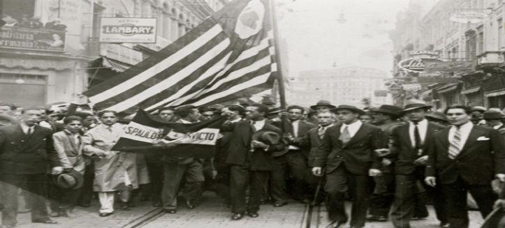 9 de julho: Revolução constitucionalista e fundação do PDC