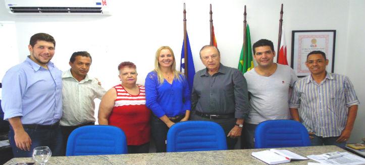 Lideranças e pré-candidatos em reunião na sede nacional do PSDC nesse começo de 2016.